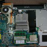 Vaio Type F(VGN-FS92S)、CPU交換