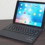 iPad 2017 キーボードケース、3,000円ながらも入力、質感は上々