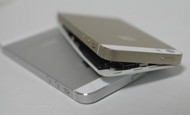 iphone5s, crack, submerged