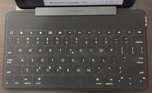 Keys-To-Go (IK1041BK) キーボード全体