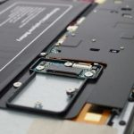 Jumper EZBook 3 Pro、底板を外して SSD M.2スロットを確認してみた