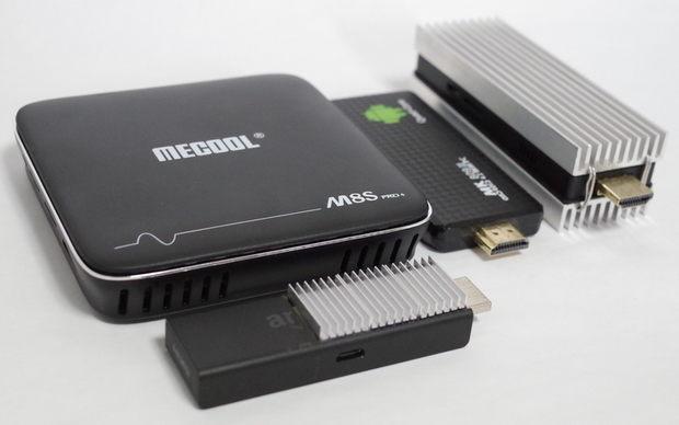 TV Box 「MECOOL M8S+」とFire TV Stik、Stick PC