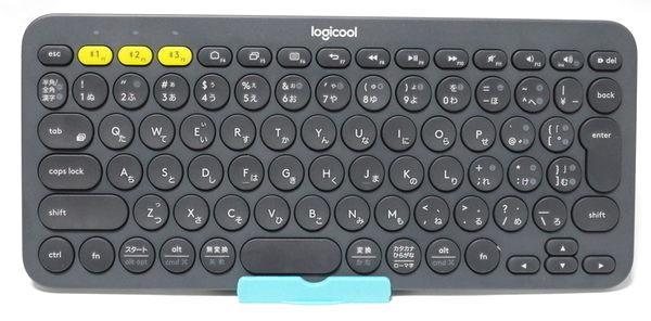 ロジクール K380BK 全体