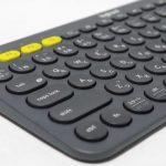 端末の瞬時切替と入力感が心地よいキーボード、K380のレビュー