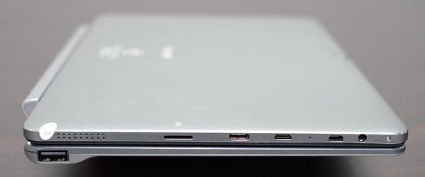 Chuwi Hi10 Pro with Keyboard  left side