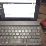 Fireタブレット、キーボードでの文字入力の使用感。ブログ記事編集にてiPadと比較してみた