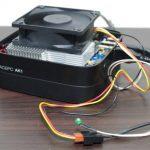 3pinファンをUSB接続できる変換アダプターをミニPCで使ってみた