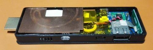 スティックPC 冷却 銅板