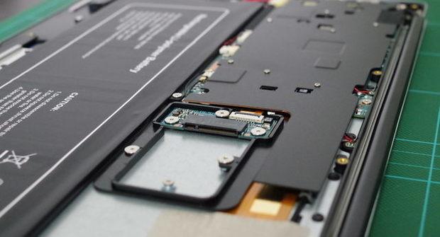 Jumper EZBook 3 Pro SSD m.2 スロット