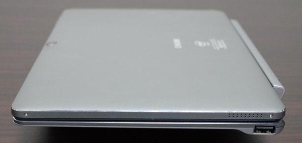 Chuwi Hi10 Pro with Keyboard right side