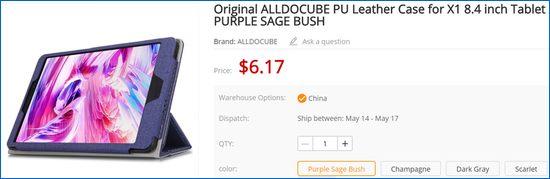 Gearbest Alldocube X1 ケース