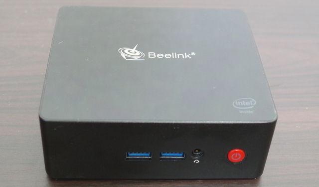 Beelink Gemini X45 Premium 天板と電源部分