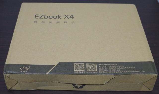 EZBook X4 外箱
