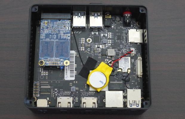 Beelink Gemini X45 Premium motherboard 上から