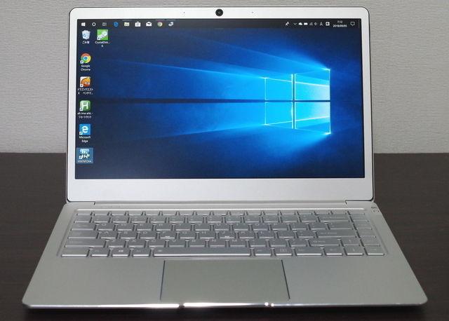Jumper EZBook X4 IPS パネル版、正面より