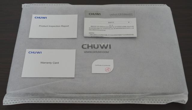 Chuwi LapBook SE 付属品