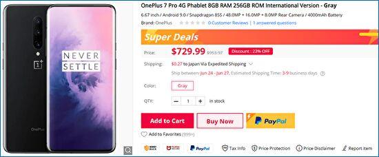 Gearbest OnePlus 7 Pro